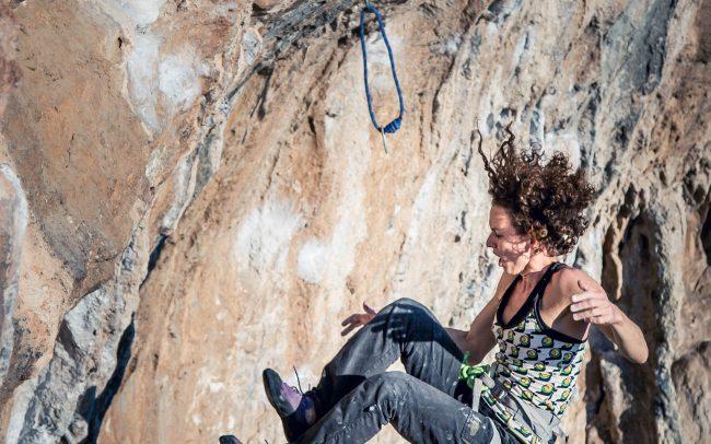 Fotografia di arrampicata sportiva